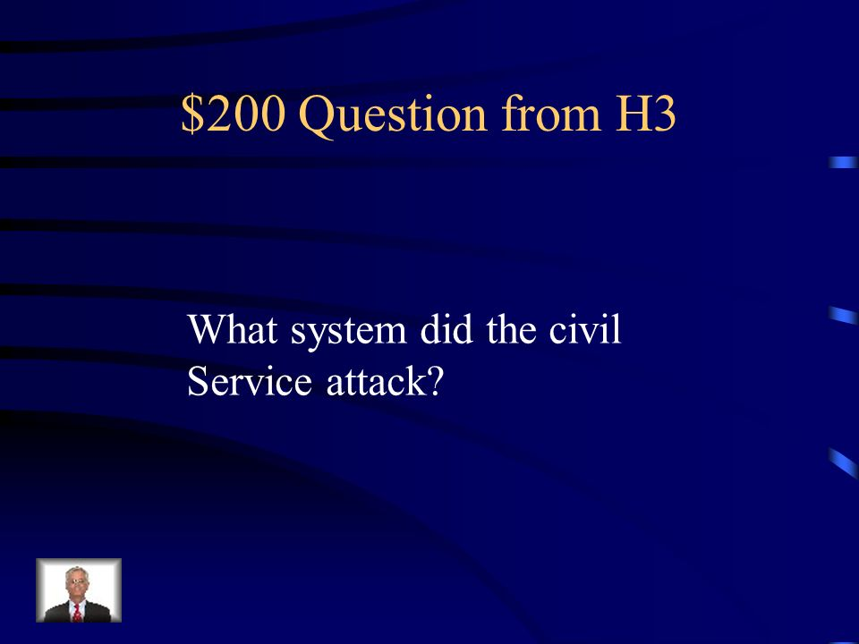 $100 Answer from H3 Vote Republican