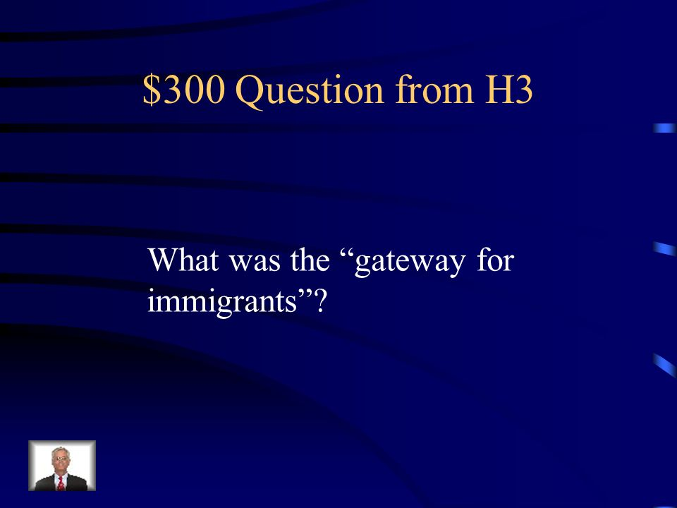 $200 Answer from H3 Spoils system