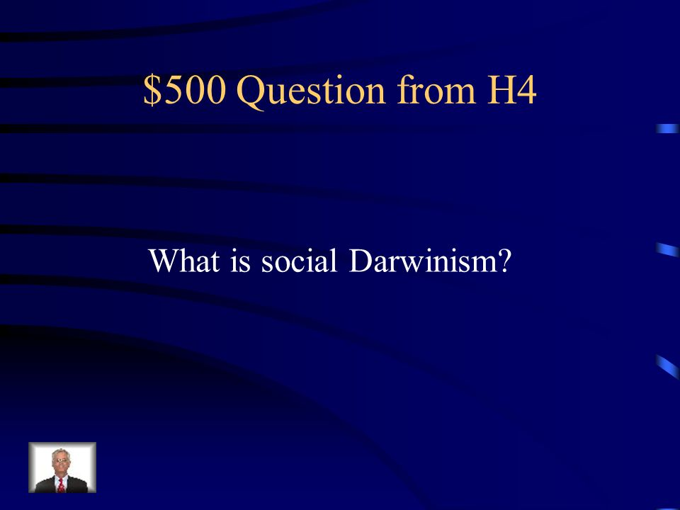 $400 Answer from H4 The rich must look over society
