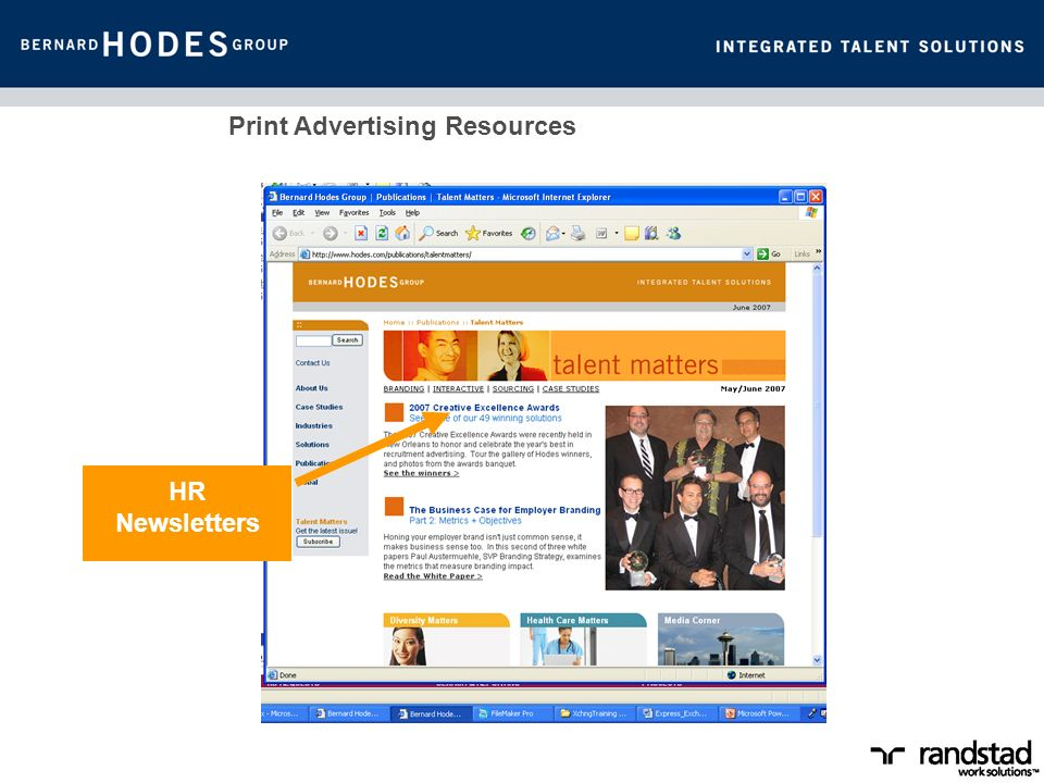 Print Advertising Resources HR Newsletters