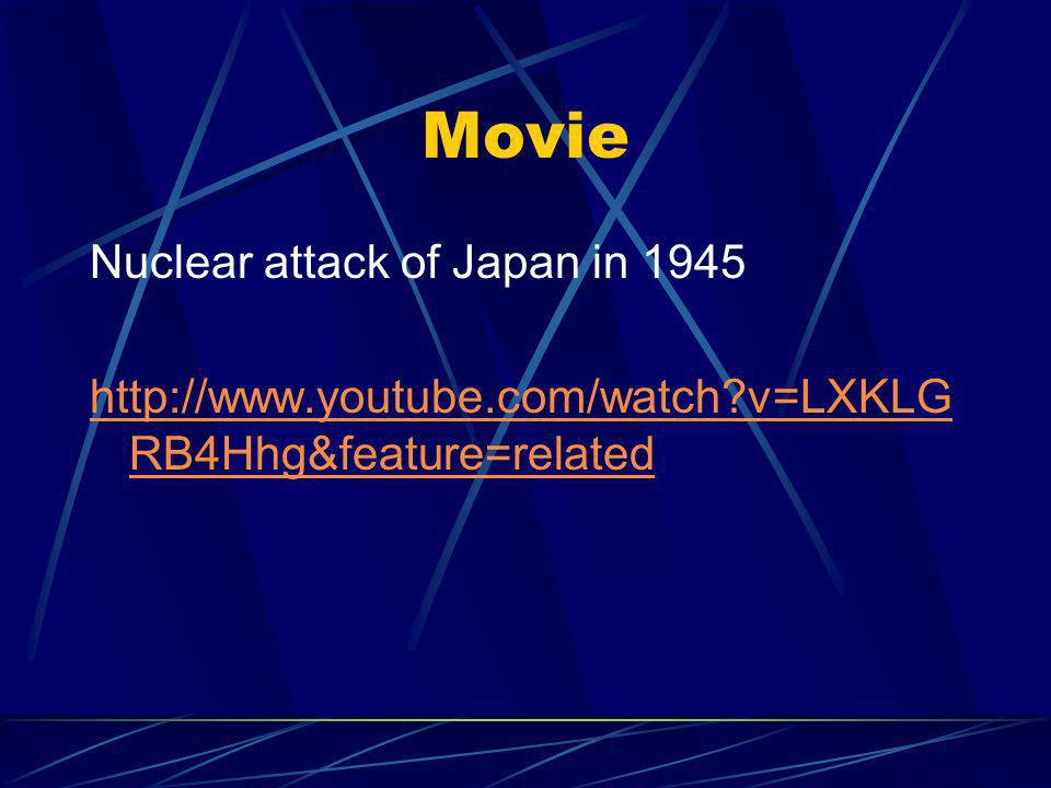 Movie Nuclear attack of Japan in v=LXKLG RB4Hhg&feature=related