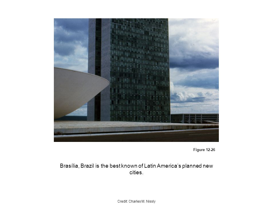 Figure Brasília, Brazil is the best known of Latin Americas planned new cities.