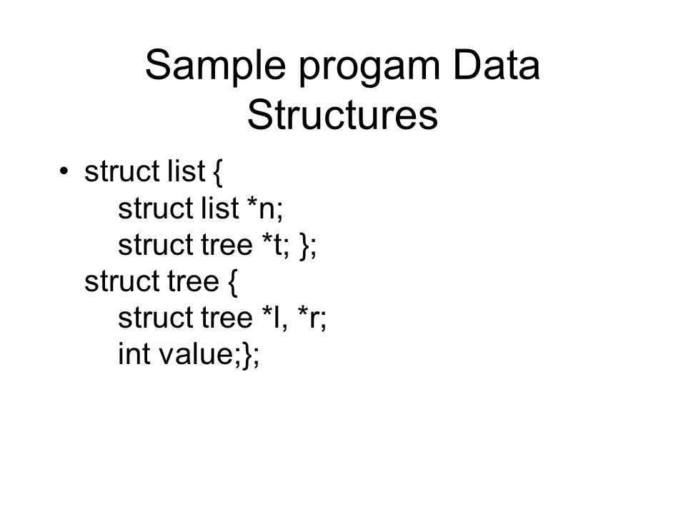Shape analysis and Recursive data structures The objective is to verify the integrity of dynamic data structures such as lists and trees Based on principles of separation logic Builds on work from Byron Cook and company The key contribution is reasoning about data structures more complex than linked lists –Regular expressions are used to describe paths through data structures Creating a COQ formalism