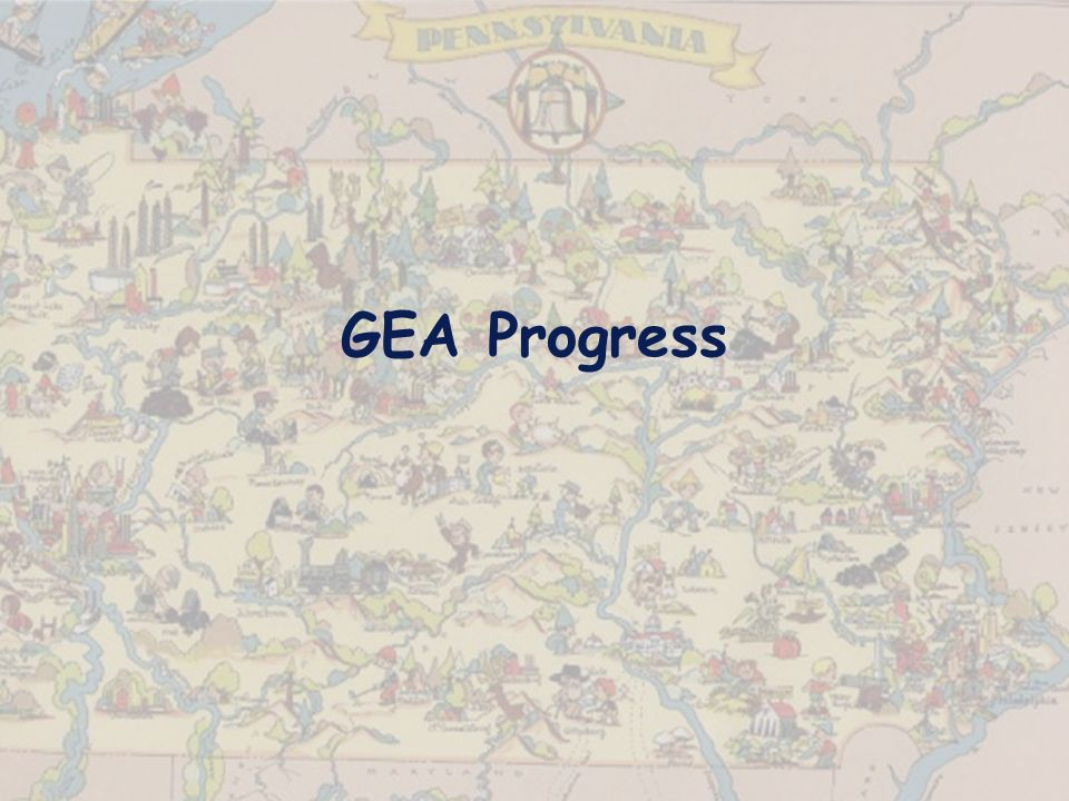 GEA Progress