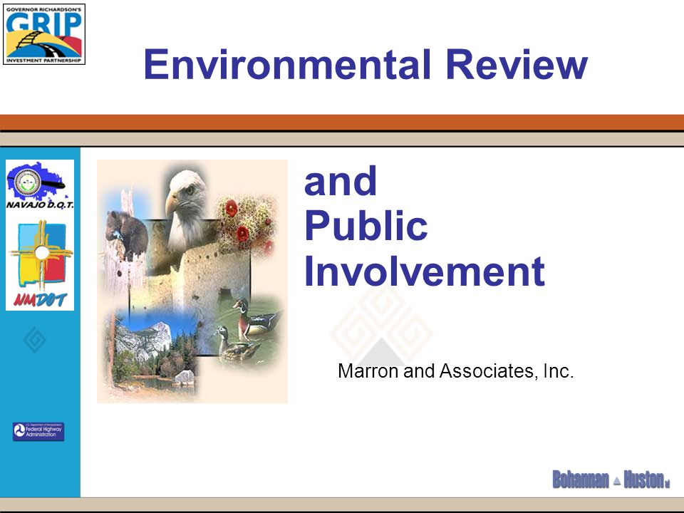 Environmental Review and Public Involvement Marron and Associates, Inc.