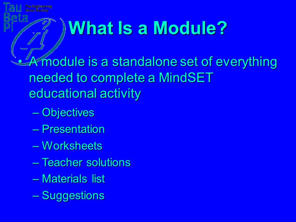 What Is a Module.