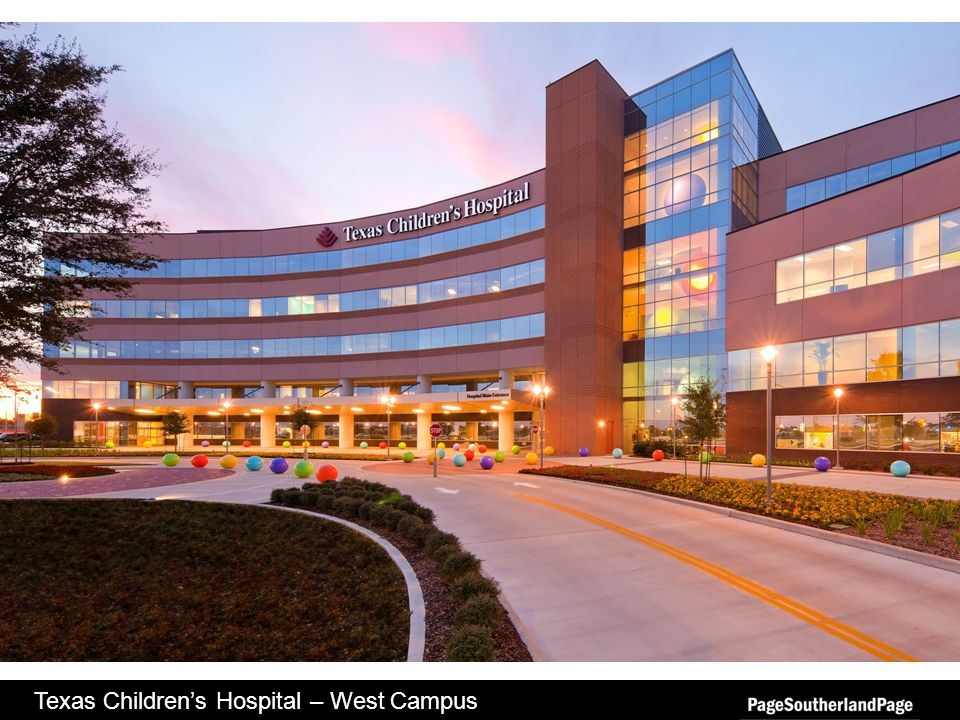 Texas Childrens Hospital – West Campus