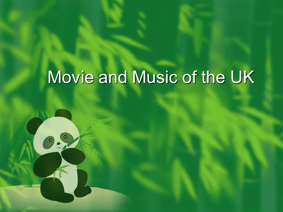 Movie and Music of the UK