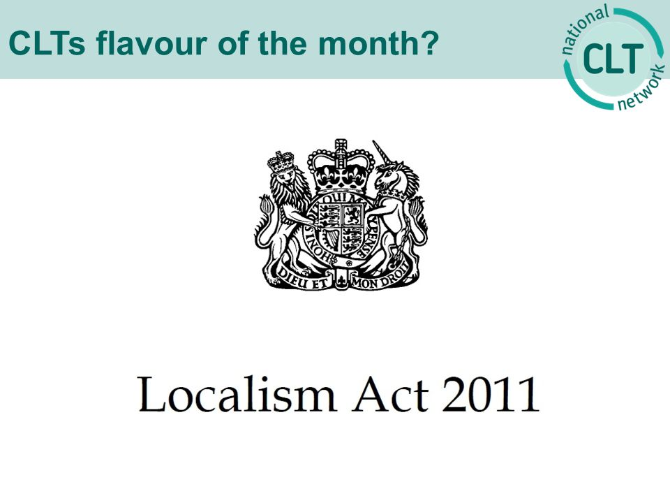 CLTs flavour of the month