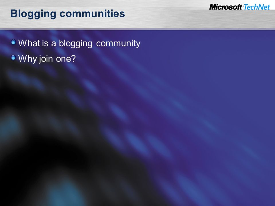 Blogging communities What is a blogging community Why join one