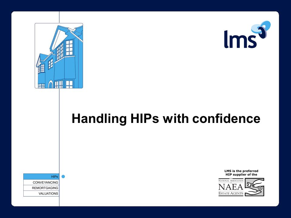 Handling HIPs with confidence
