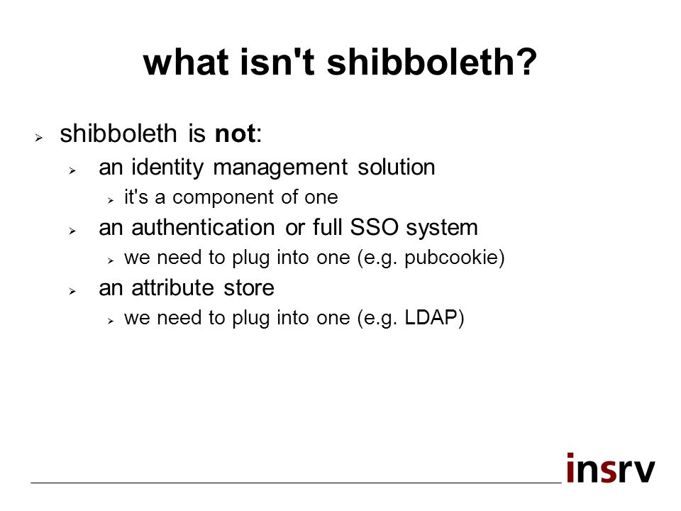 what isn t shibboleth.