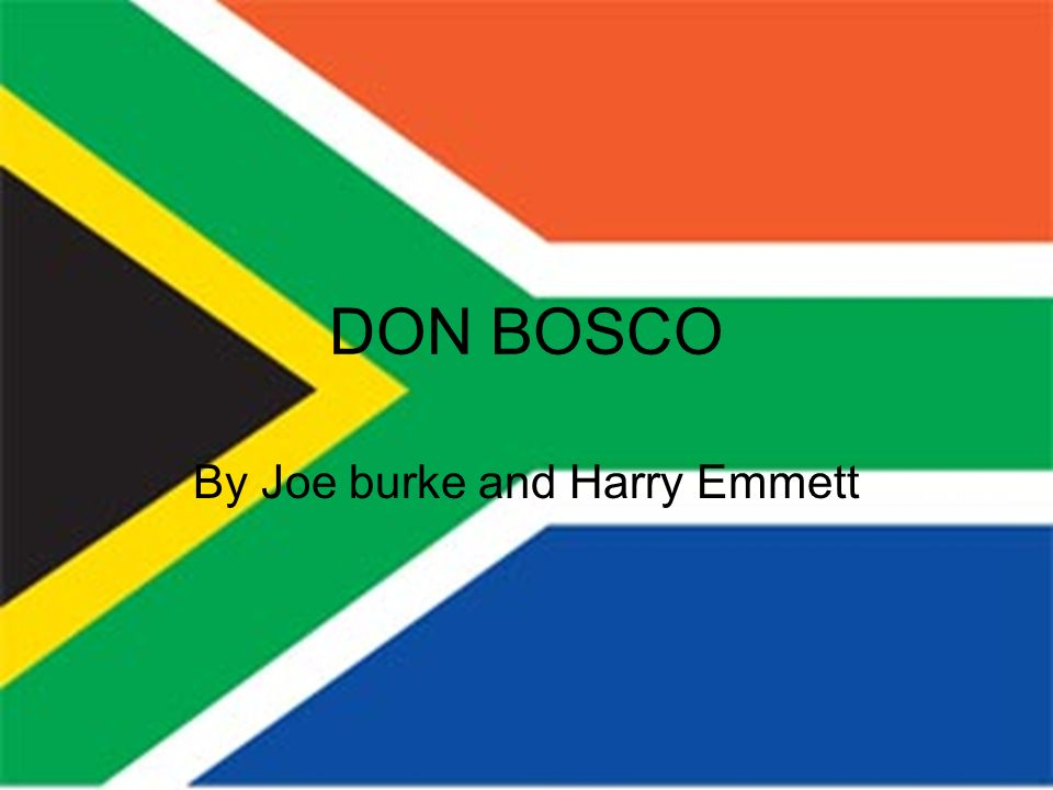 DON BOSCO By Joe burke and Harry Emmett