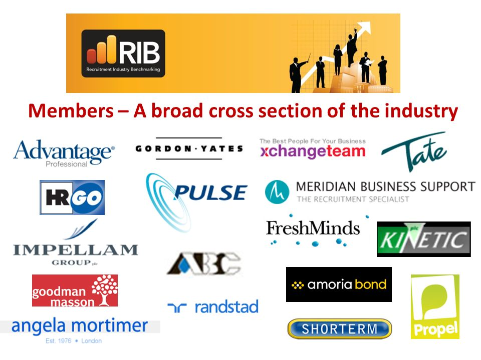 Members – A broad cross section of the industry