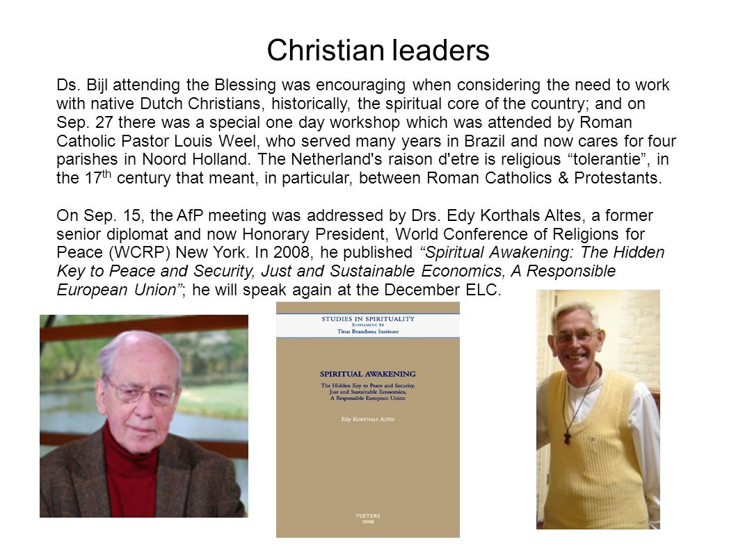 Christian leaders Ds.