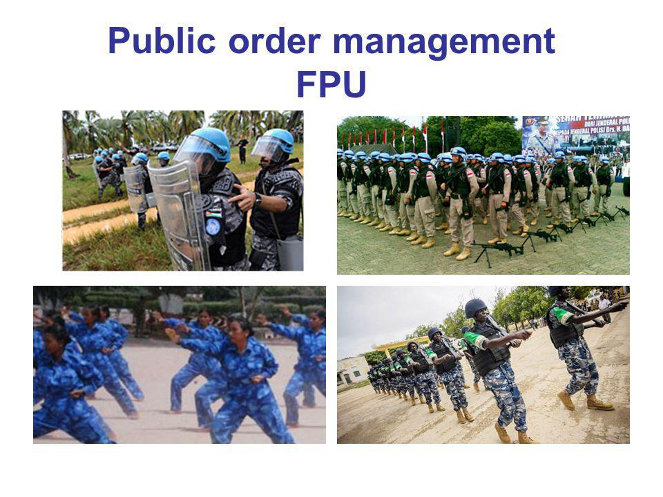Public order management FPU
