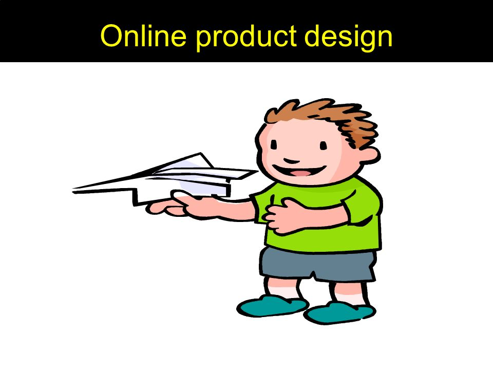 Online product design