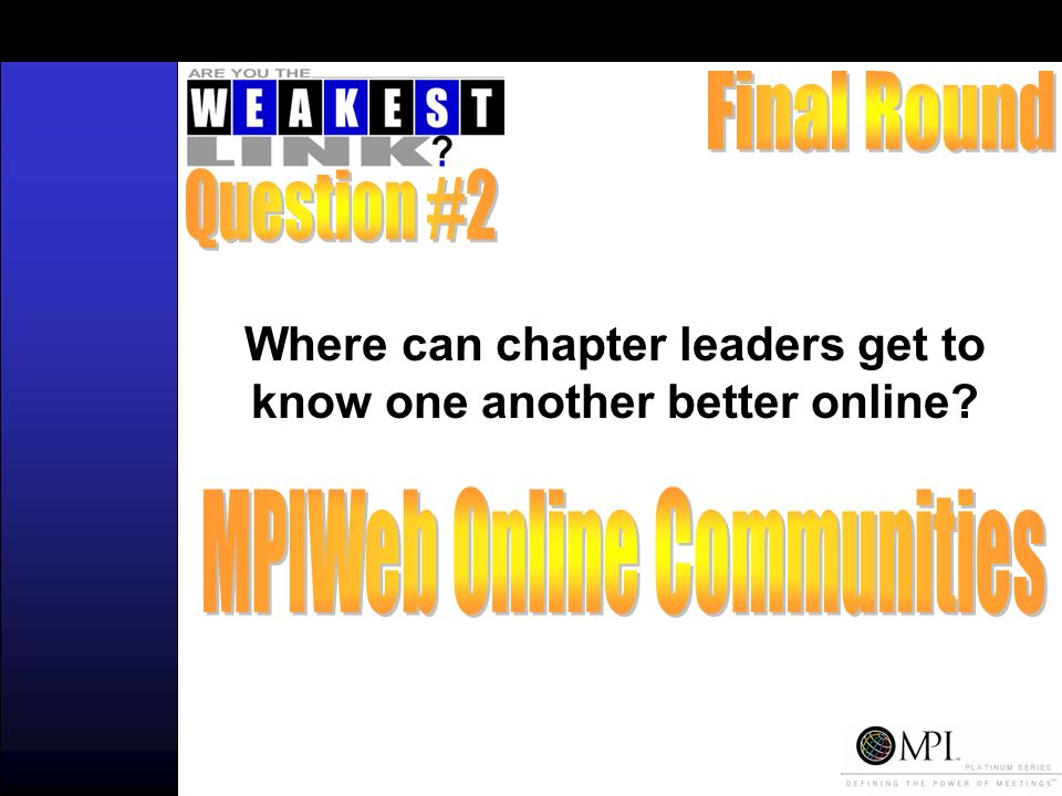 Where can chapter leaders get to know one another better online