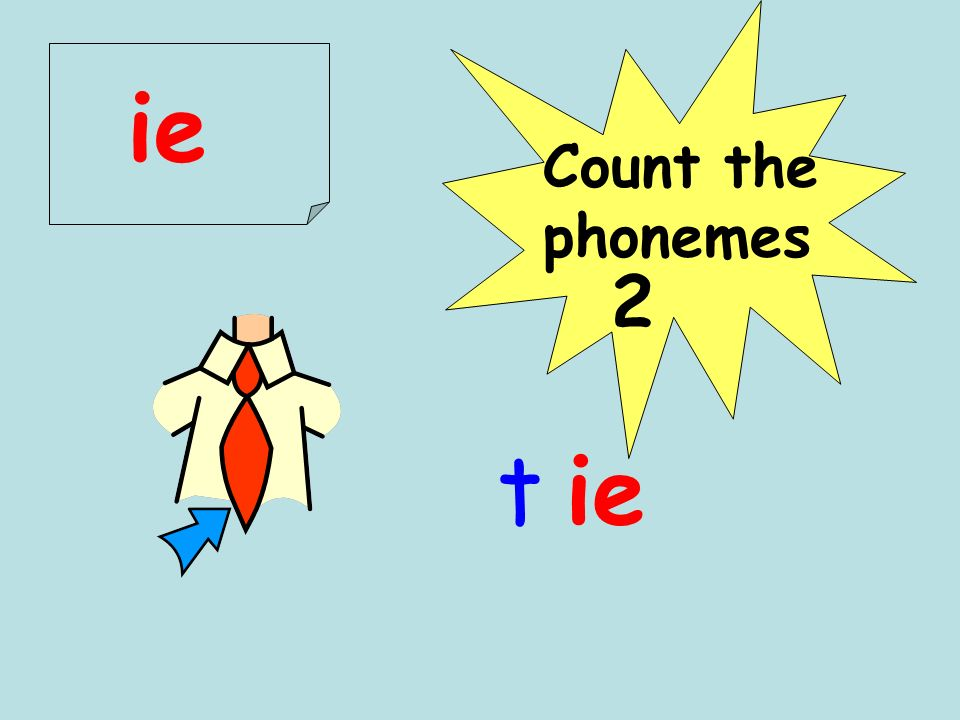 Count the phonemes pie 2