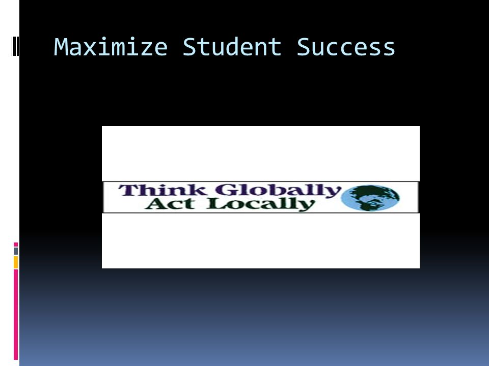 Maximize Student Success