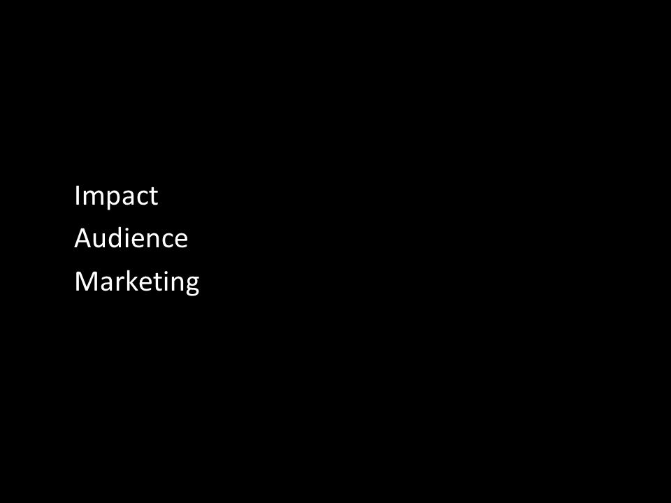 Impact Audience Marketing