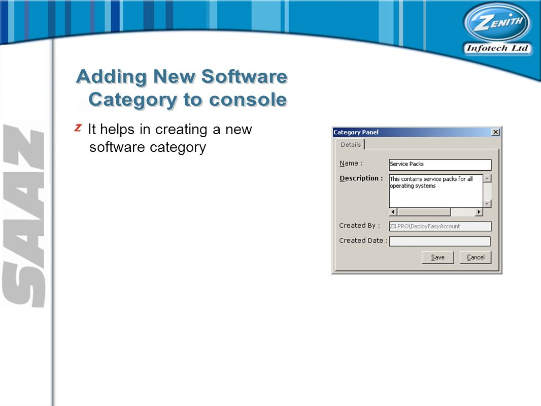 It helps in creating a new software category