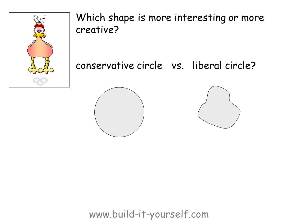 www.build-it-yourself.com Which shape is more interesting or more creative.