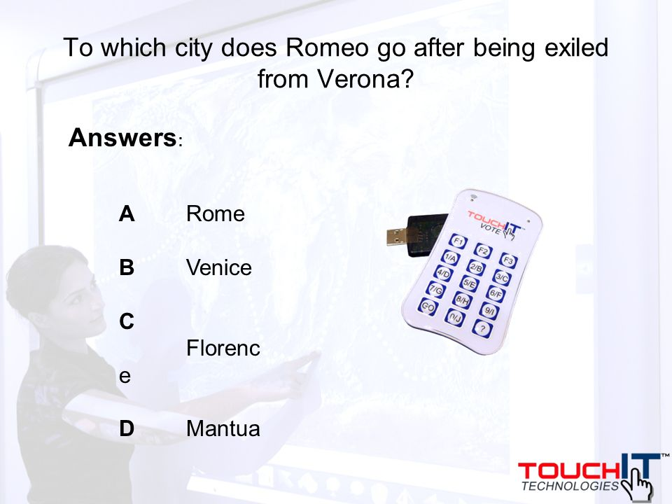 To which city does Romeo go after being exiled from Verona.
