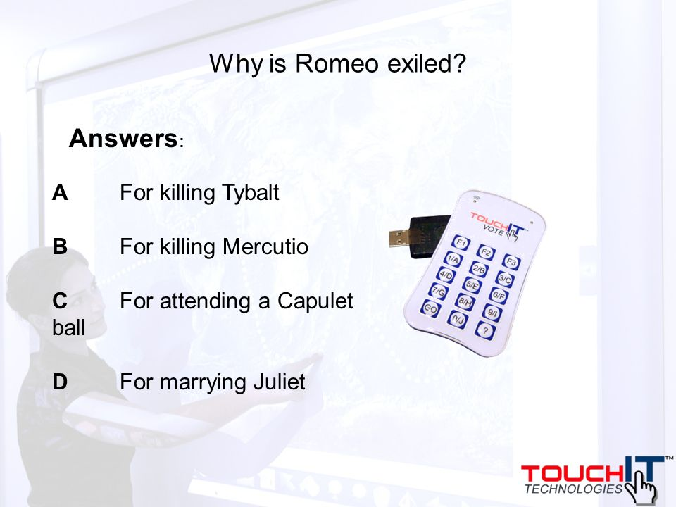 Why is Romeo exiled.