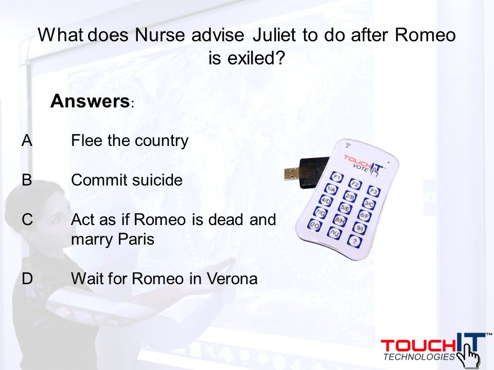 What does Nurse advise Juliet to do after Romeo is exiled.