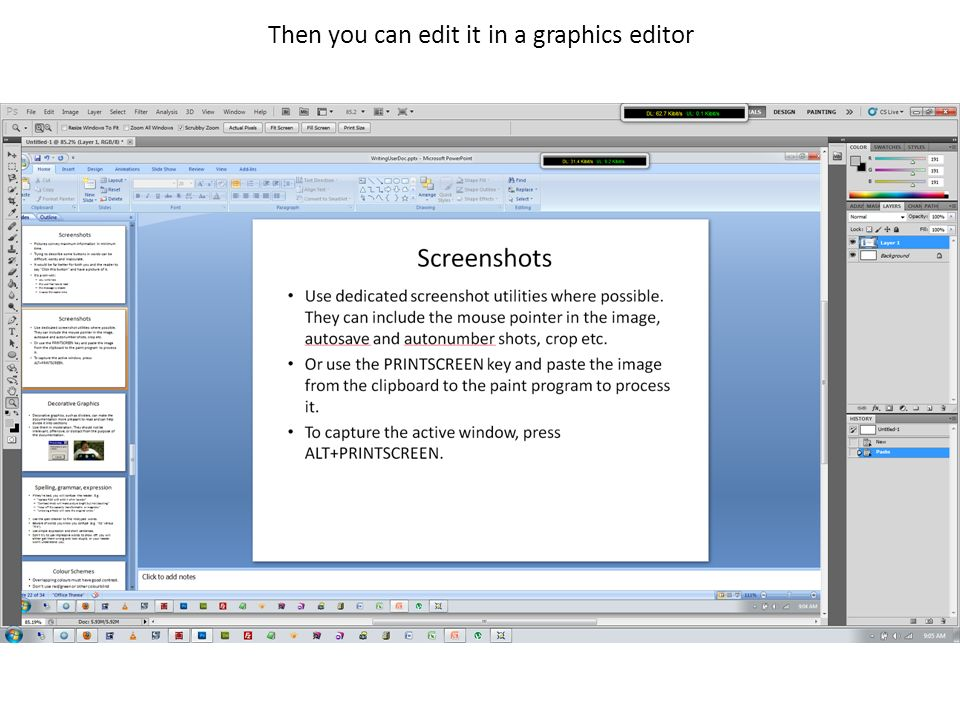 Then you can edit it in a graphics editor
