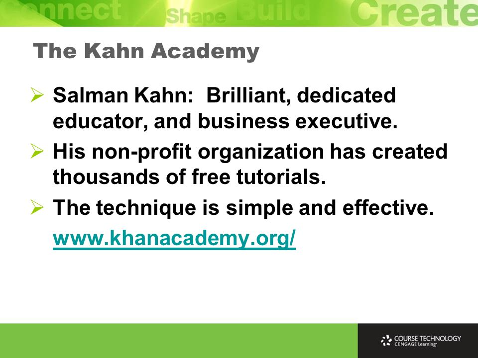 Salman Kahn: Brilliant, dedicated educator, and business executive.