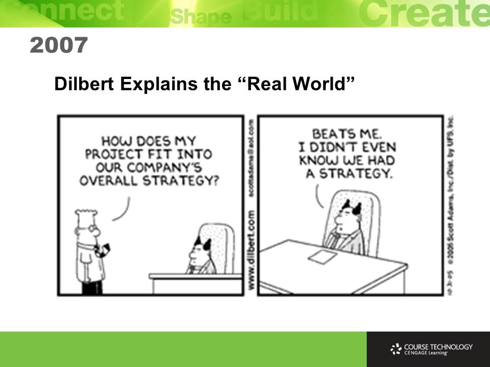 Dilbert Explains the Real World 2007