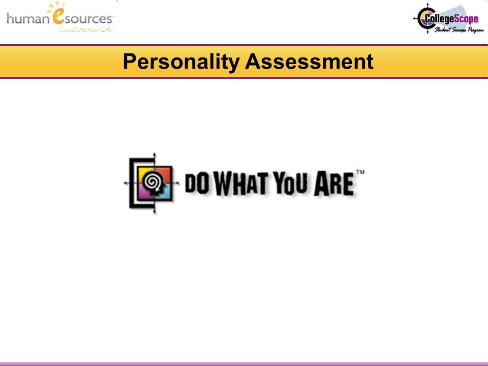 Illuminate Your Life Personality Assessment