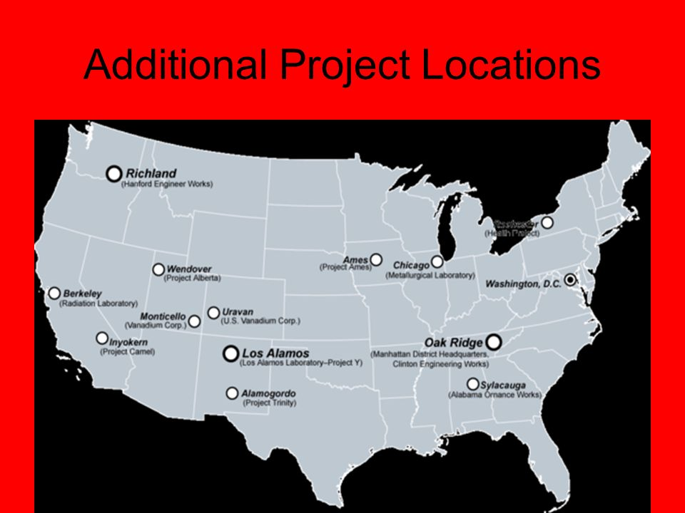 Additional Project Locations