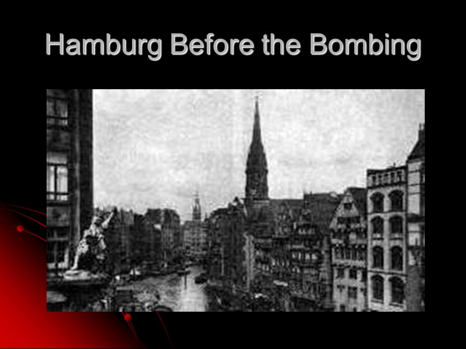 Hamburg Before the Bombing