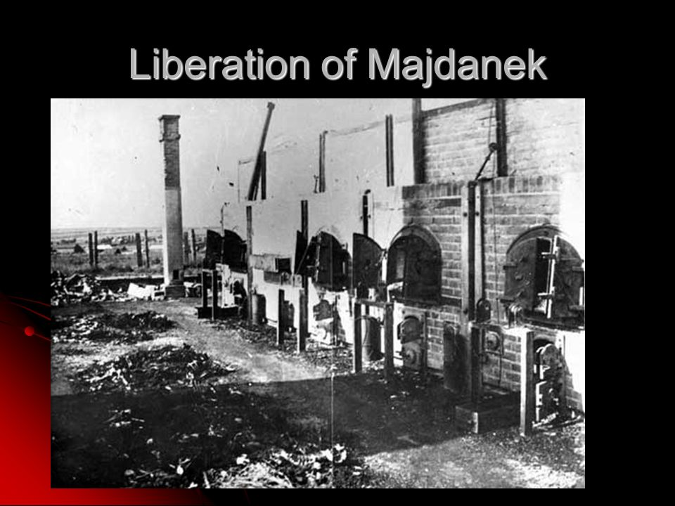 Liberation of Majdanek