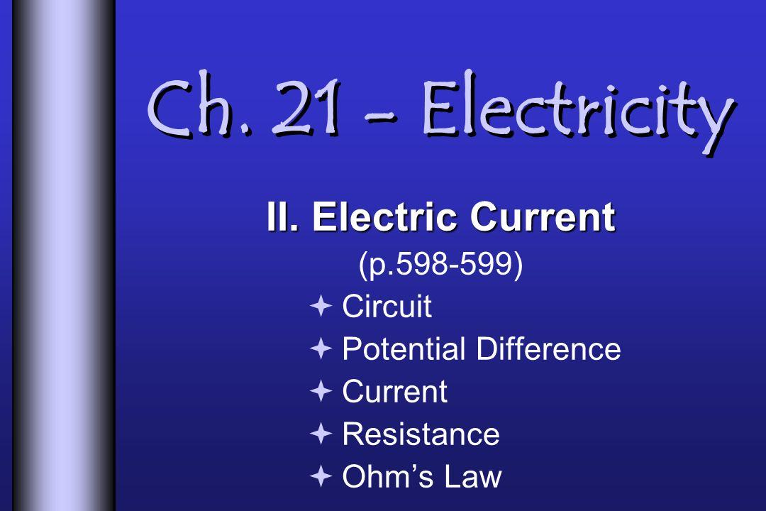 Ch Electricity II.