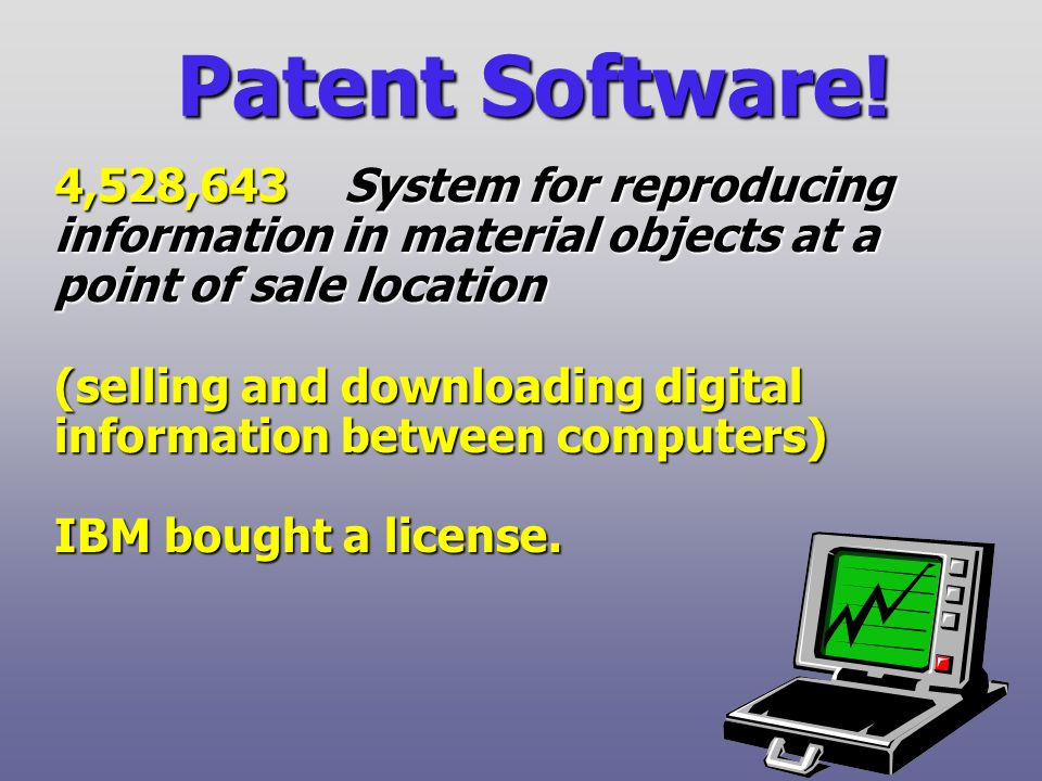 Patent Software.