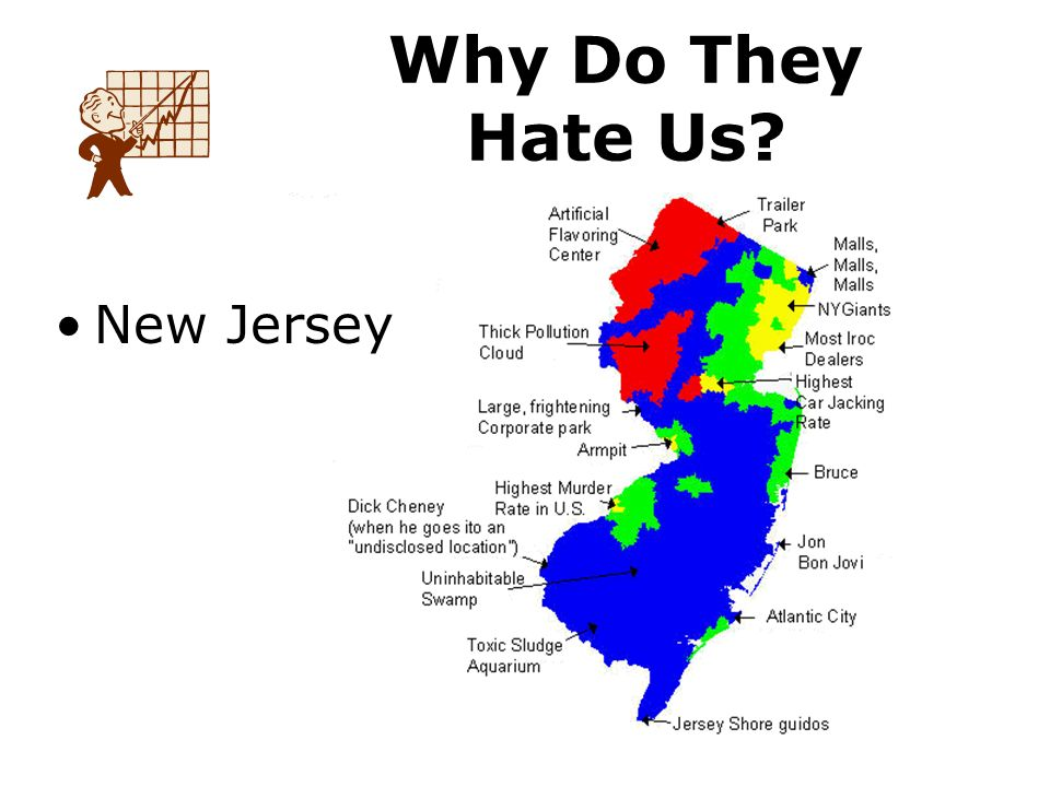 New Jersey Why Do They Hate Us
