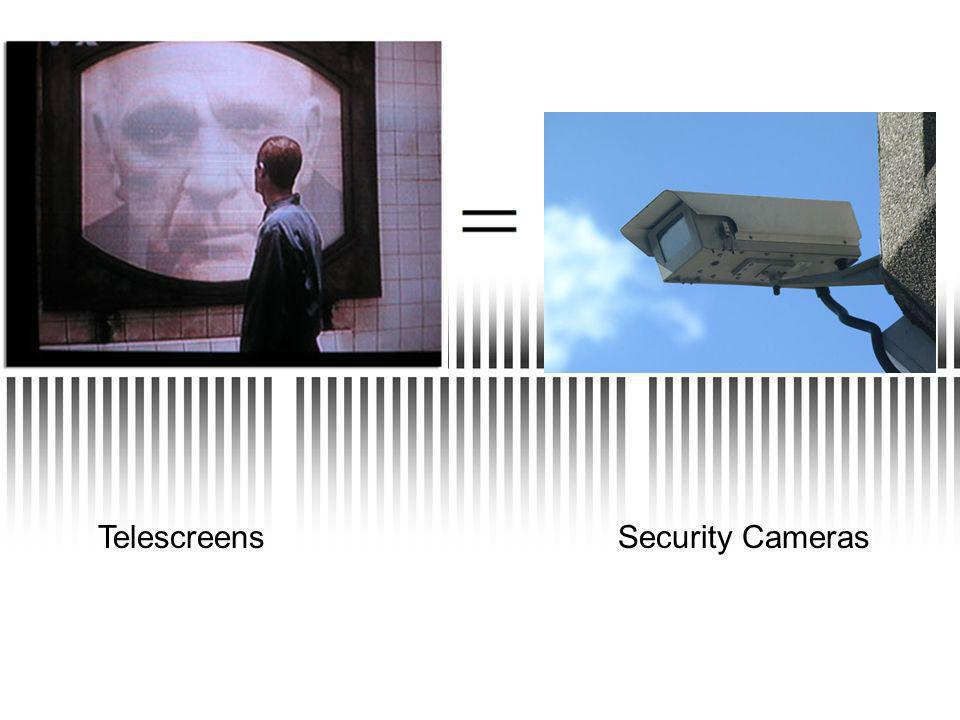 Security CamerasTelescreens