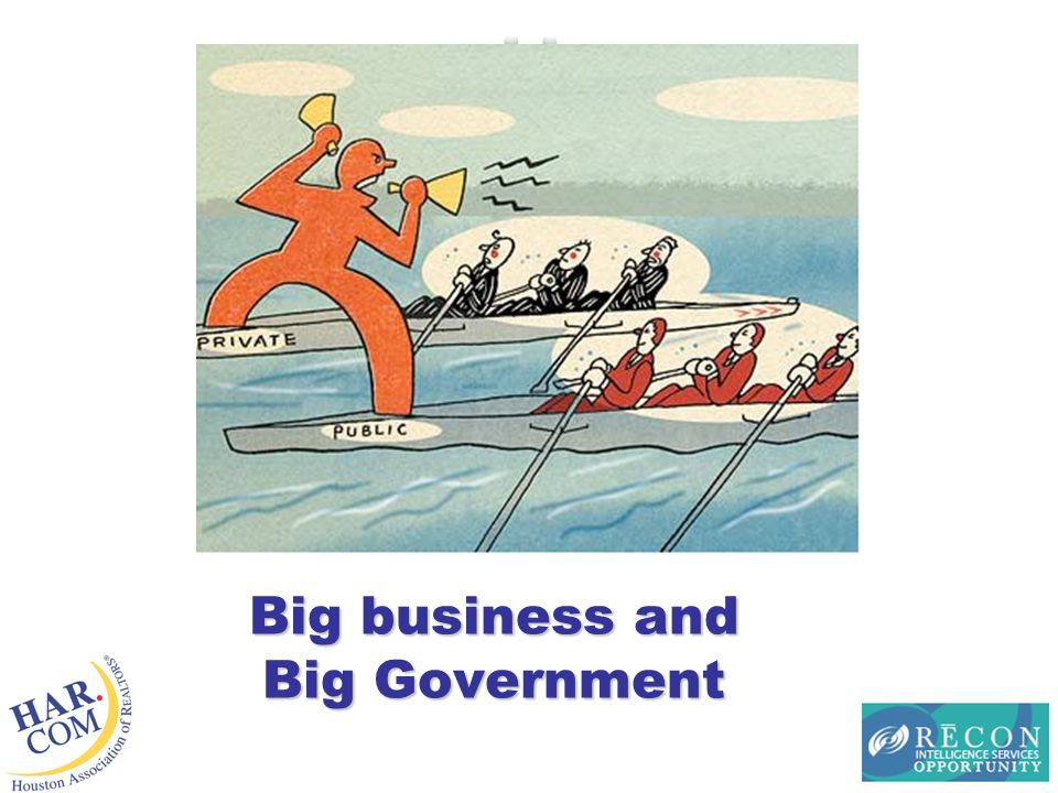 Big business and Big Government