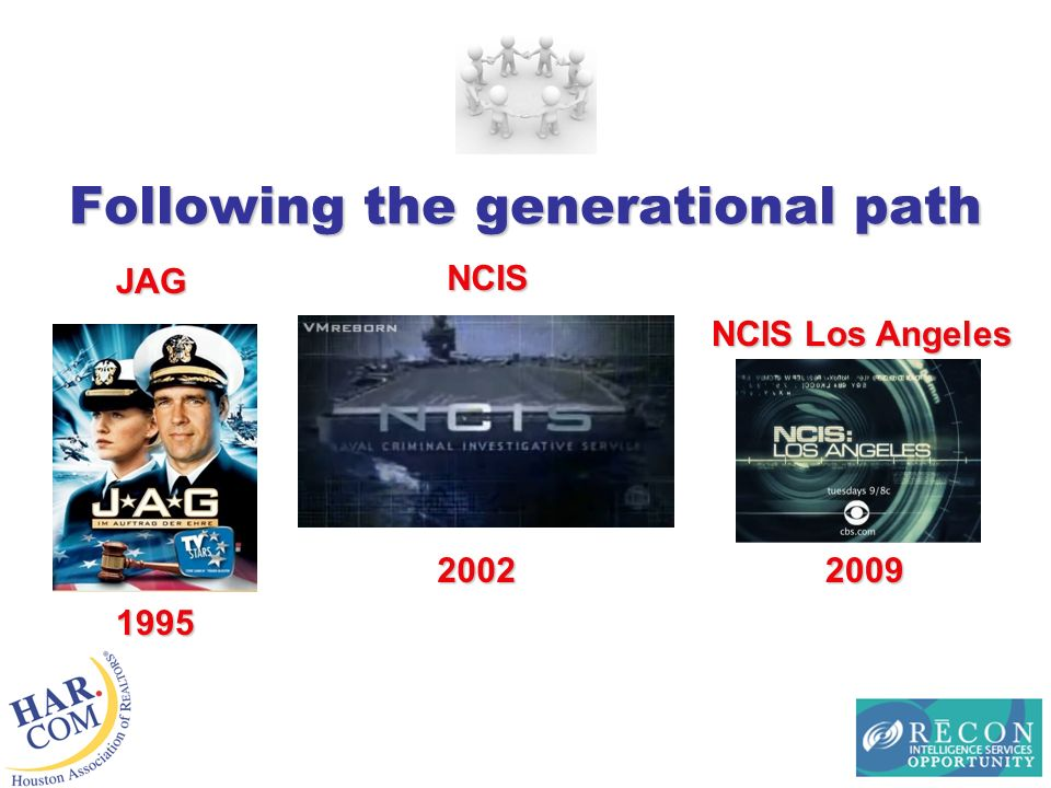 Following the generational path JAG NCIS NCIS Los Angeles