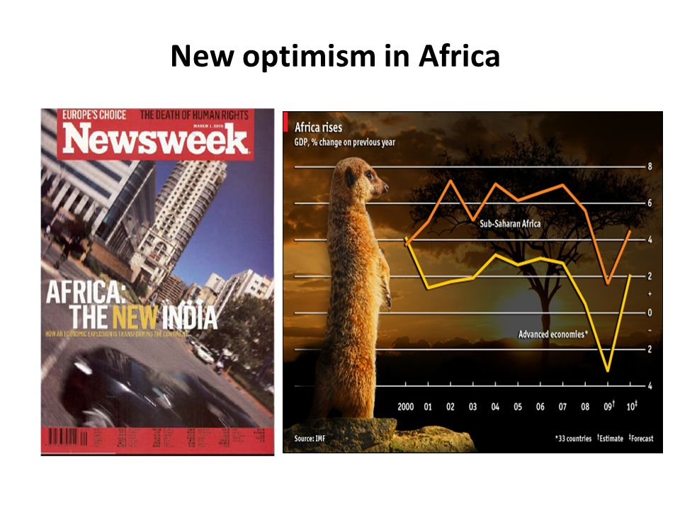New optimism in Africa