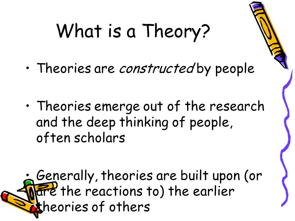 What is a Theory.