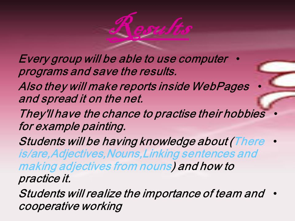Group4:   page=31020http://  page= Group5:   si/Mayis.pdf   si/Mayis.pdf Group6:   Each group will discus and work cooperatively to reach to the goal Share information and save the information.