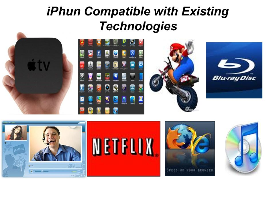 iPhun Compatible with Existing Technologies