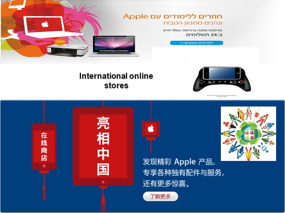 International online stores