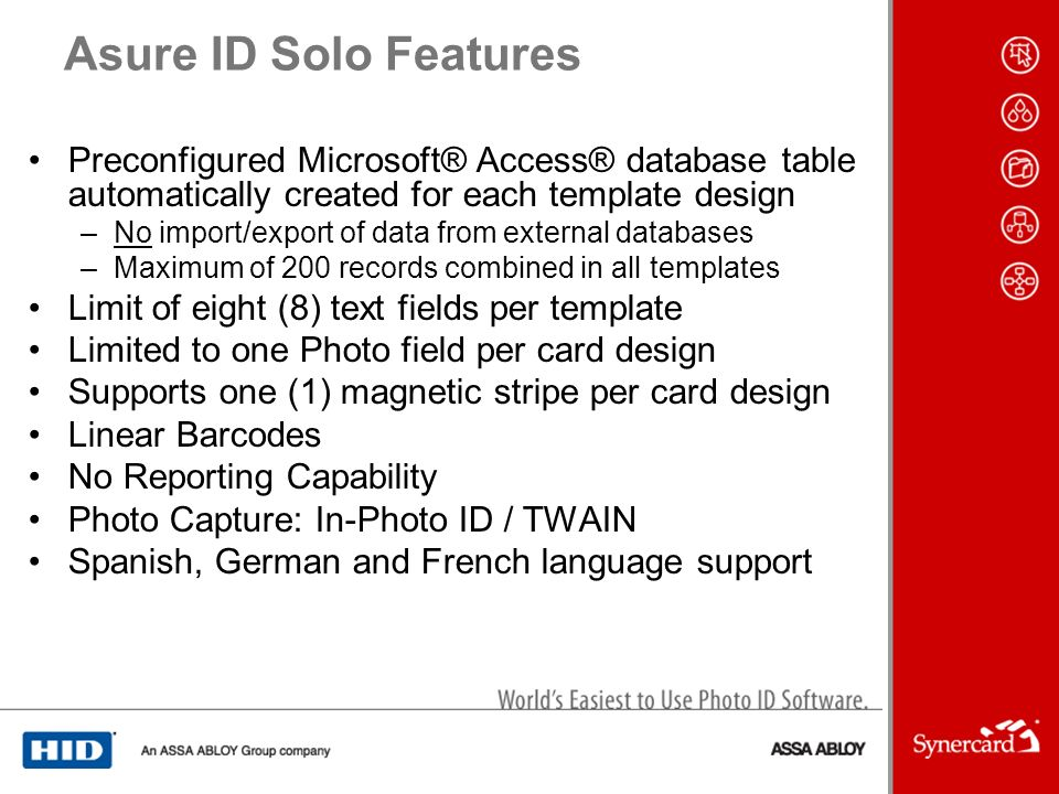 10 Asure ID Solo Features Preconfigured