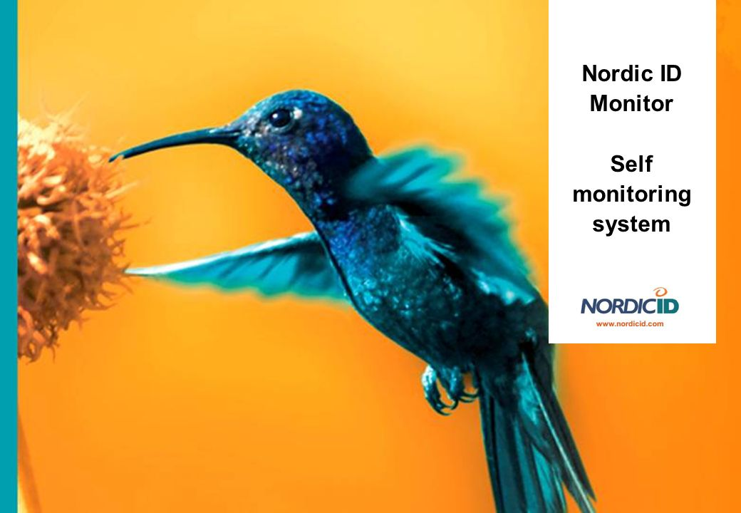 Nordic ID Monitor Self monitoring system